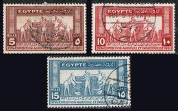 EGYPT 1931 - Set Used - Egypte