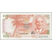 TWN - MALAWI 24b - 5 Kwacha 1.1.1994 Prefix BR UNC - Malawi