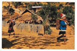 Thai Hill Tribe (Ekoh) Village North Thailand  -     - L 1 - Thailand