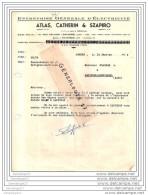46 21 CAHORS LOT 1954 Electrecite ATLAS - CATHERIN Et  SZAPIRO 19 Rue Pelegri Bureau ˆ PUY L EVEQUE - Francia