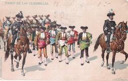 PASEO DE LAS CUADRILLAS. J GRANAT. CIRCULEE EL PASO TO  COLORADO-TBE-BLEUP - Mexico