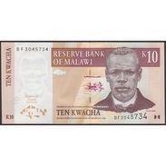 TWN - MALAWI 51a - 10 Kwacha 1.6.2004 Prefix BF UNC - Malawi
