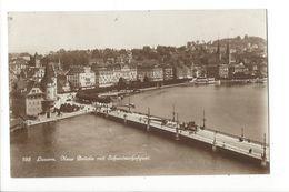 19003 - Luzern Neue Brücke Mit Schweizerhofquai - LU Lucerne