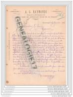 96 10 TURQUIE CONSTANTINOPLE  Importation AG RAYMONDI 1894 Dest J. SORIN Domaine Du Mortier ˆ COGNAC - Unclassified
