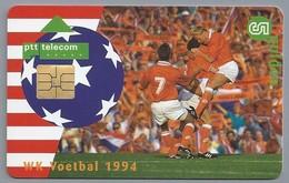 NL.- Telefoonkaart. 5 GULDEN. PTT Telecom. WK Voetbal 1994. ORANJE GOES USA!. - Sport