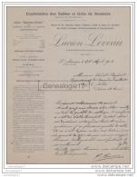 77 272 SAINT MAMMES 1912 Sable Gres Nemours Carriere LUCIEN LEVEAU Carrieres Ormesson CHEVRAINVILLIERS ST PIERRE NEMOURS - France