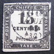 Lot R1510/262 - 1863 - TIMBRE TAXE N°3 - CàD - Postage Due