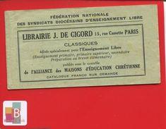 Carnet 20 Timbres Fédération Nationale Syndicats Diocésains  Enseignement Libre Notre Dame Garde Pub Baignol Farjon - Tourisme (Vignettes)