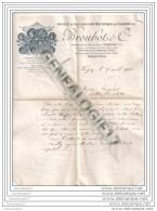 18 41 VIERZON CHER StÂŽ Construction Mecanique BROUHOT Et  Cie Rte De Paris Pres Le Pont De Chemin De Fer 1903 - Agriculture