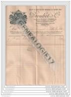18 40 VIERZON CHER StÂŽ Construction Mecanique BROUHOT Et  Cie Rte De Paris Pres Le Pont De Chemin De Fer 1902 - Agriculture