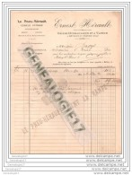 60 28 BETHISY SAINT PIERRE OISE Pneu Herault  Ets ERNEST HERAULT 1904 Dest BAGROS Usine Hydraulique Et ˆ Vapeur - Agricoltura