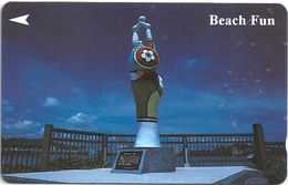 Singapore - Beach Fun, Sculptures, 45SIGE, 1994, 28.000ex, Used - Singapore