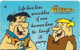 Singapore - Fred & Barney, Flintstones, 136SIGA, 1998, Used - Singapore