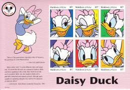 Maldives 1999 MNH Scott #2354 Sheet Of 6 Rf7 Daisy Duck - Disney