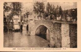 12. Villefranche De Rouergue. Le Pont Des Consuls - Villefranche De Rouergue