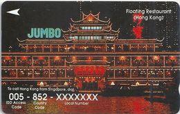 Singapore - Hong Kong, Call Asia, 34SIGF, 1994, 350.000ex, Used - Singapore