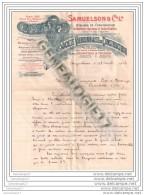 16 54 ANGOULEME CHARENTE StÂŽ VIERZONNAISE DE CONSTRUCTION VIERZON CHER Ets SAMUELSON Co Ltd 1903 Machine Vapeur - France