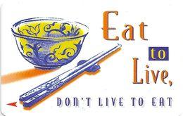 Singapore - Rice Bowl Eat To Live, 140SIGA, 1998, Used - Singapore