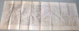Assemblage De 2 Cartes S.G.A. : ROUEN Est / Gournay-en-Bray - 1/50 000ème - 1903/33. - Topographical Maps