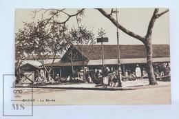 Old Africa Postcard - Afrique Occidentale - Dakar - La Marhe - Animated - Senegal