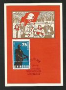 DDR 1964  Mi.Nr. 1048 , Leningrad - Maximum Karte - Stempel Mahn-und Gedenkstätte Leningrad 12.8.64 - DDR