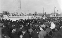 Carte Photo 14 Caen Calvados Inauguration Monument Aux Morts 3 04 1927 - Caen