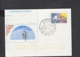 """ITALIA  1985 - Annullo Meccanici - Planetario Astronomico """"Sorgenti Galileo"""" - Astrologia"""