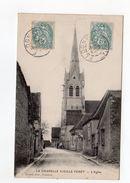 La Chapelle Vieille Forêt - L'église - 89 - - France