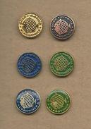 Sports Fishing Association Vlasina - Vlasotince ( Serbia ).lot - 6 Pins Fish - Badges