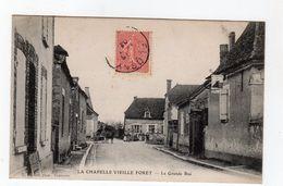 La Chapelle Vieille Forêt - La Grande Rue - 89 - - France