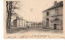 60----RARE----LIANCOURT--école De L'ile De France--château De Liancourt--voir 2 Scans - Liancourt