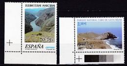 2002, Spanien, 3729/30, Naturschutzgebiete. MNH ** - 1931-Hoy: 2ª República - ... Juan Carlos I