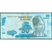 TWN - MALAWI 58a - 50 Kwacha 1.1.2012 Prefix AB UNC - Malawi