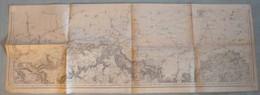 Carte Du S.G.A. : LONGWY / LUXEMBOURG - 1/80 000ème - 1834/1912. - Topographical Maps
