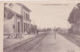 LE MESNIL SUR OGER La Gare - France