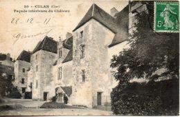 18. Culan. Façade Interieure Du Chateau - Culan
