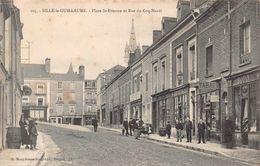 SILLE LE GUILLAUME - Place ST Etienne Et Rue Du Coq Hardi - Sille Le Guillaume