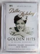 BILLIE HOLIDAY - GOLDEN HITS - 60 ORIGINAL RECORDINGS 60 Hits On 1 CD Mp3 NEUF - Blues