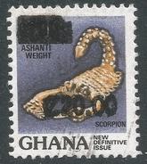 Ghana. 1988 Surcharges. 20c On 1c Used. SG 1246 - Ghana (1957-...)