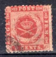 ANTILLES DANOISES - N° 3   Oblitéré (1871-3) - Denmark (West Indies)