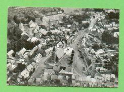 CPSM  FRANCE  59  ~  TRELON  ~  7844  Vue Aérienne - L'Eglise  ( Combier Dentelée Années 1956 )  2 Scans - Autres Communes