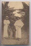 MISSIONS Assemptionnistes Au CONGO BELGE - Ituri - Frères Baudouin Et Henri Avec Deux Petits Chrétiens - Missioni