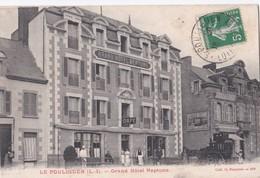 Carte 1910 LE POULIGUEN / GRAND HOTEL NEPTUNE (épicerie Et Publicité Lefèvre Utile) - Le Pouliguen