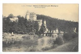 Château De BELCAYRE Près MONTIGNAC (cpa 24)   Bords De La Vézère -     - L 1 - Francia