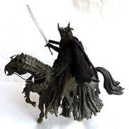 LORD OF THE RING - SEIGNEUR DES ANNEAUX - TOY BIZ - LA BOUCHE DE SAURON A CHEVAL épée Non D'origine - Herr Der Ringe
