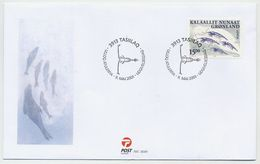 GREENLAND 2001 Europa: Water Conservation. On FDC.  Michel 368 - FDC
