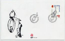 GREENLAND 2001 Arctic Winter Games On FDC.  Michel 365 - FDC