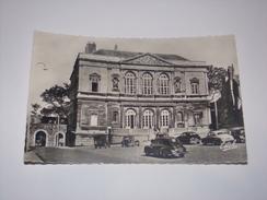 Boulogne Sur Mer.Le Palais De Justice Et La Porte Des Dunes.Format Cpa.Automobile.Voiture.Auto.Car. - Boulogne Sur Mer