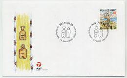 GREENLAND 2000 HAFNIA '01  On FDC.  Michel 358 - FDC