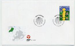 GREENLAND 2000 Europa: On FDC.  Michel 355 - FDC